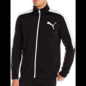 NWT Men's Puma Contrast Jacket Black & White 3XL